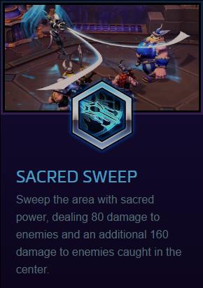 Auriel Sacred Sweep