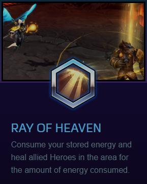 Auriel Ray of heaven