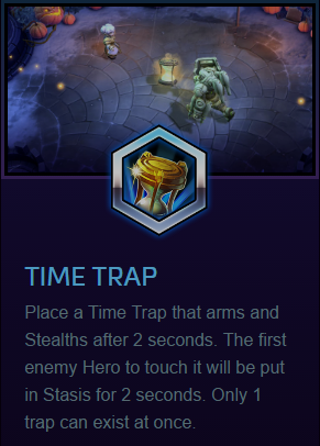 Chromie time trap