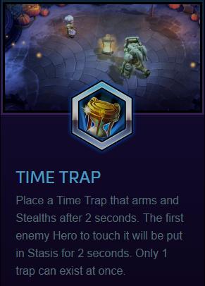 Chromie time trap