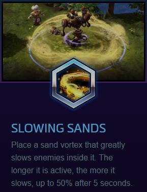 Chromie Slowing Sands