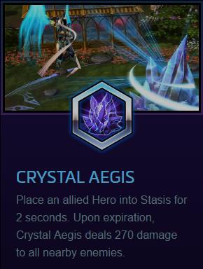 Auriel Crystal aegis