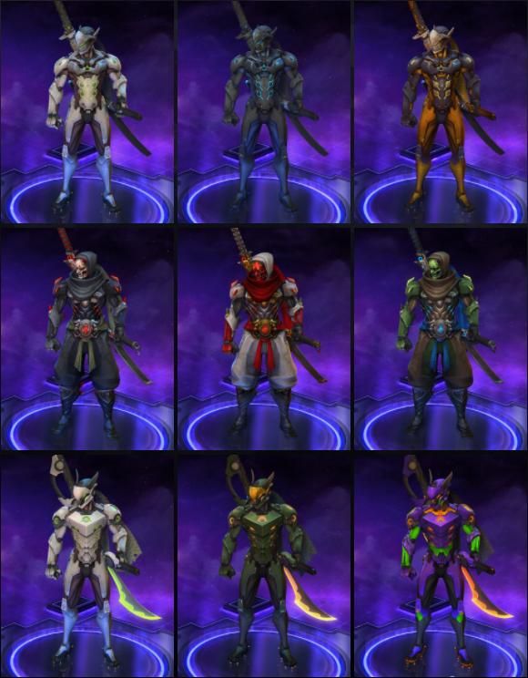 Genji outfits