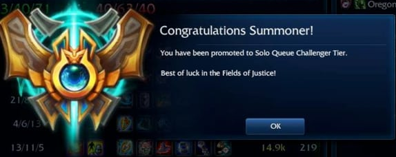 lol solo challenger